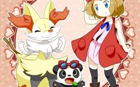 Serena Braixen Panchan Pokemon Xy Pokemon Pinterest - Pokemon Xy ...