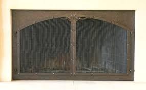 custom fireplace screens fire screens