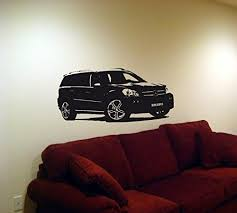 Wall Mural Decal Sticker Car Mercedes Benz Gl Brabus 09 Details Can Be Found By Clicking On The Image Car Stickers Wall Mural Decals Mercedes Benz Gl