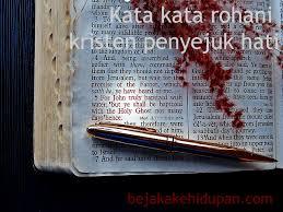 kata kata rohani kristen penyejuk hati jangan lupa bahagia