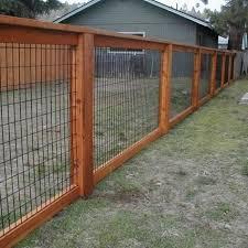 Hog Wire Fence Design Construction Resources Diy Dog Fence Backyard Fences Fence Design