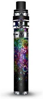 Amazon Com Skin Decal Vinyl Wrap For Smok Stick Prince Kit Tfv12 Prince Vape Kit Skins Stickers Cover Rainbow Bubbles