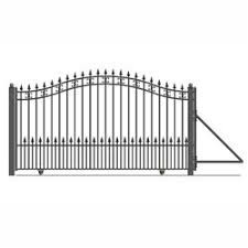 Steel Sliding Driveway Gate St Petersburg Style 12 X 6 Ft Aleko Driveway Fence Fence Gate Iron Gate Design