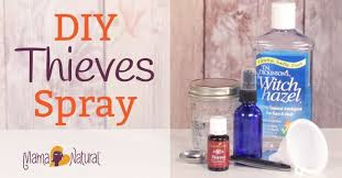 diy thieves spray the best all natural