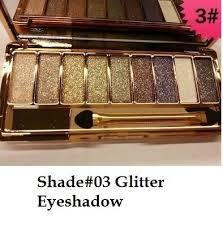 glitter eye shadow palette makeup