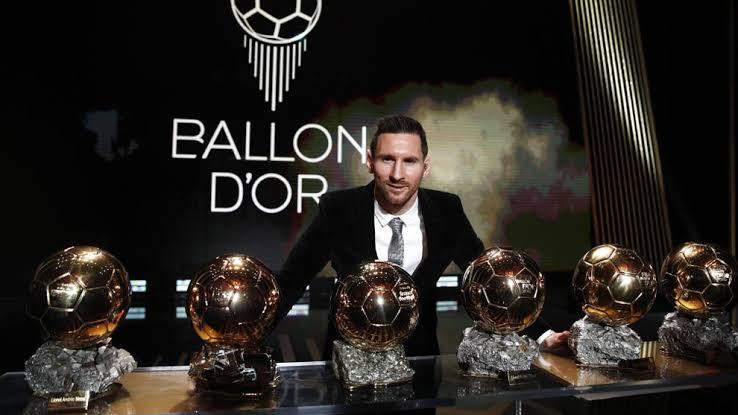 Messi y su 6o Balón de Oro