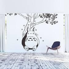 Totoro Under The Tree Vinyl Wall Art Decal