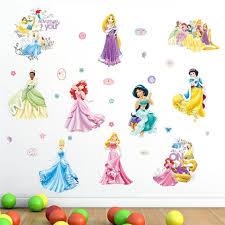 Disney Princess Girl Room Wall Stickers Gallery Wallrus Free Worldwide Shipping