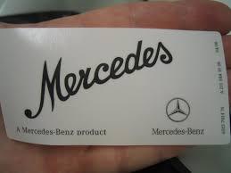 Mercedes Windshield Decal Update Mercedes Benz Forum