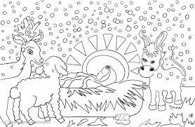 Jezus In De Kribbe Sneeuw Clipart Geloven Is Leuk