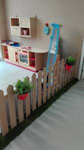 How Cool Would This Be To Make Out Of Cardboard Dramatic Play Fence Daycare Decor Preschool Rooms Kids Playroom