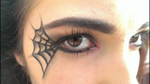 spider web makeup you