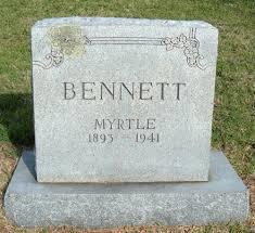 Myrtle Bennett (1843-1941) - Find A Grave Memorial