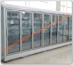 display chiller glass door display