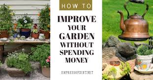 improve your garden instantly without