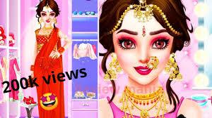 indian barbie makeup and dress up salon