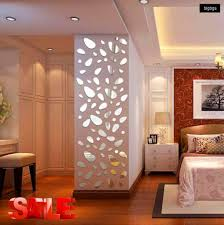 Amazon Com 12pcs 3d Mirror Vinyl Removable Wall Sticker Decal Home Decor Art Diy Mirror Wall Decal Silver Arts Crafts Sewing