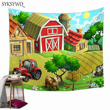 Farmhouse Decor Tapestry Kids Bedroom Decoration Wall Hanging Carpet Boho Room Decor Tapestry Aliexpress