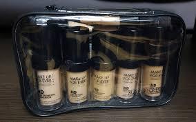 makeup forever hd foundation starter