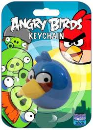 Angry Birds Blue Bird Keychain Loose Commonwealth Toys - ToyWiz