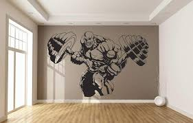 Amazon Com Gym Wall Decal Ae1116 Handmade