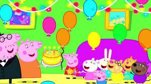 Peppa Pig Canta Feliz Cumpleanos En Espanol Youtube