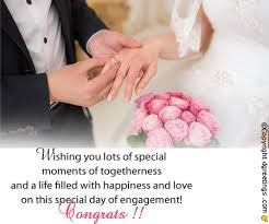 wishes on engagement day