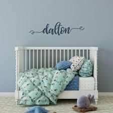 Baby Name Wall Decal Girl Boy Nursery Decor Motomoms Decor