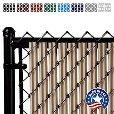Ridged Slats Single Wall Bottom Locking Privacy Slat For Chain Link Fence 9 Colors 6 Sizes On Galleon Philippines