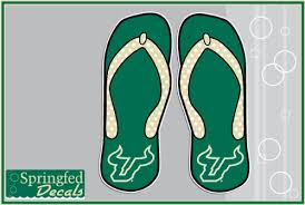 Usf Bulls Bull Horns Flip Flops 4 Vinyl Decal South Florida Car Truck Sticker Buy Online In Belarus Usf Bulls Products In Belarus See Prices Reviews And Free Delivery