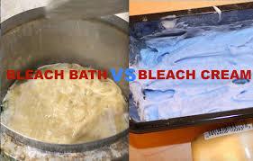 learn bleaching hair or bleach bath vs