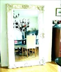 extra large oval mirrors