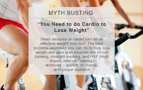 do cardio to lose weight