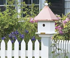Mini House Post Cap Decorative House For The Birds Walpole Outdoors