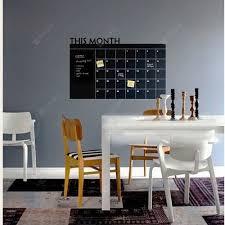 This Month Calendar Vinyl Blackboard Sticker Chalkboard Wall Decals Kids Room Sale Price Reviews Gearbest