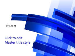 background blue powerpoint template