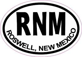 3in X 2in Oval Rnm Roswell New Mexico Sticker Travel Decal Hobby Stickers Funny Bumper Stickers Bumper Stickers Vinyl Sticker