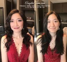 bride christine asian makeup hair