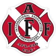 Custom Iaff Decal Firefighter Com