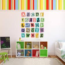 Alphabet Wall Decal Set Wall Decal World