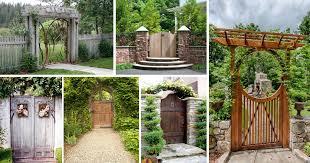 20 amazing garden gate ideas which make