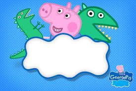 Cumpleanos De George Pig Kit Con Imprimibles Para Decoracion Mi