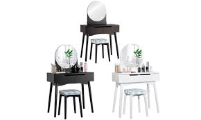 up to 44 off on costway vanity table