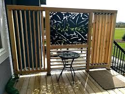 balcony patio backyard porch shade