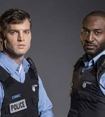 Actor pals Adrian Holmes and Jared Keeso mix it up for TV cop ...