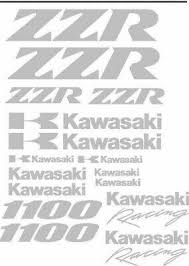 Kawasaki Zzr 1100 Vinyl Decal Set 18 Topquality Bike Graphics Anycolourbestprice Archives Midweek Com