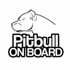 Pitbull Car Stickers Bulldog Decal Stickers Bull Terrier Stickers Barking Bullies
