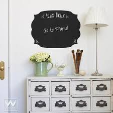 French Design To Do List Chalkboard Decal For Office And Kitchen Wall Wallternatives