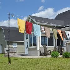 pylex outdoor clothesline post 10736