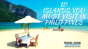 islands you must visit in philippines